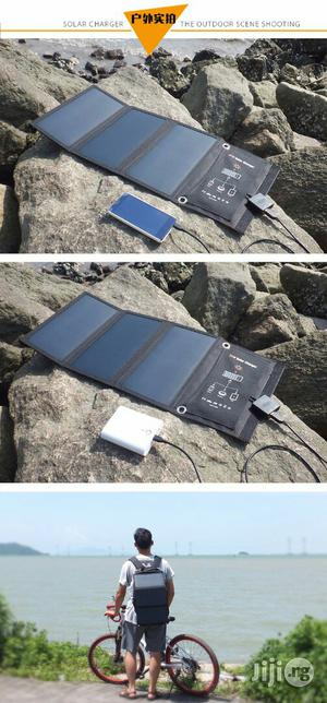 Mobile Phone And Tablet 21-watt Sun Solar Charger   Solar Energy for sale in Lagos State, Ikeja