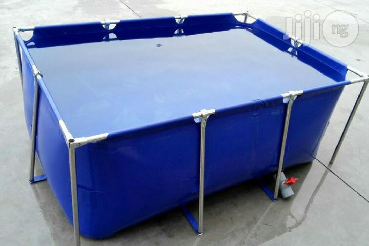 Collapsible Fish Pond