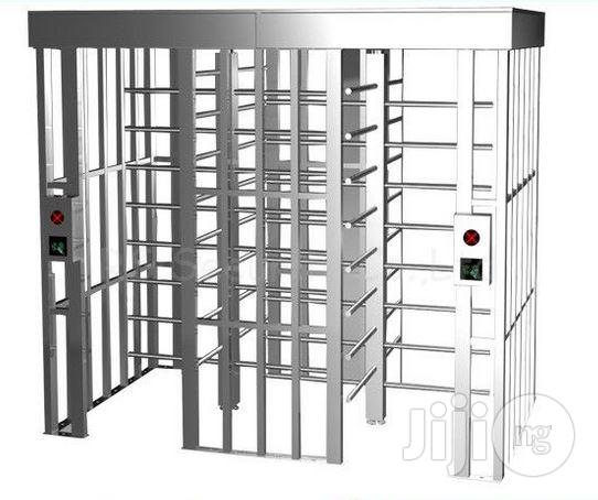 Stainless Steel Full Height Turnstiles Bi-Direction Access Control