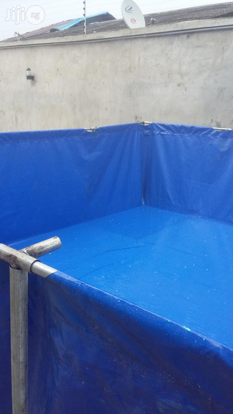 Collapsible Fish Pond | Farm Machinery & Equipment for sale in Maitama, Abuja (FCT) State, Nigeria