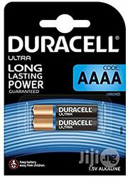 UK Duracell Specialty Type AAAA Alkaline 1.5v Battery, Pack Of 2   Photo & Video Cameras for sale in Lagos State, Alimosho
