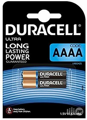 UK Duracell Specialty Type AAAA Alkaline 1.5v Battery, Pack Of 2