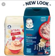 Gerber Lil Bits Banana Strawberry Baby Cereal (8oz) | Baby & Child Care for sale in Lagos State, Ikeja