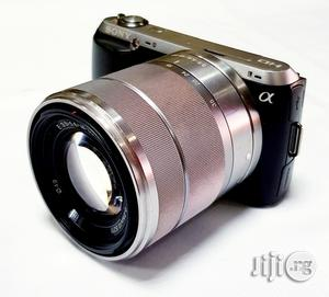 Sony Interchangeable Lens Camera Apha NEX-C3 With 18-55mm Lens | Photo & Video Cameras for sale in Lagos State, Ikeja