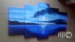 Blue Sunset Painting Hand Painted Artworks   Building Materials for sale in Cross River State, Calabar