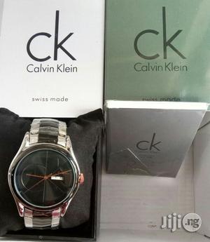 Calvin Klein Black/Silver Chain Watch   Watches for sale in Lagos State, Lagos Island (Eko)