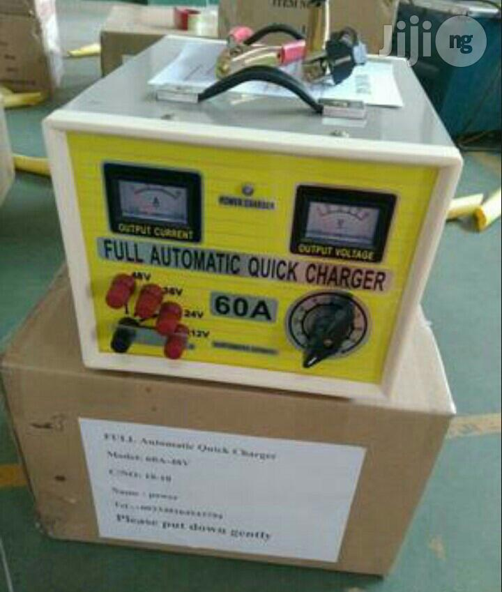 12V-48V 60amps Full Automatic Battery Charger