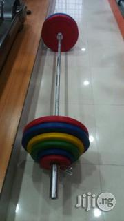 Set of Olympic Weight and Bar (150kg) | Sports Equipment for sale in Lagos State, Lagos Island