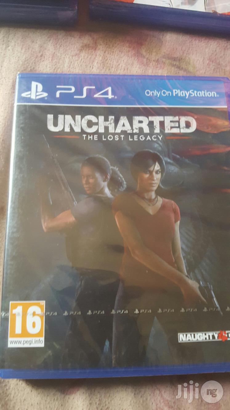Uncharted The Lost Legacy Uncharted 5 Ps4 Playstation 4 In Ikeja