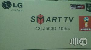 Lg Televition 43 Inch Smart   TV & DVD Equipment for sale in Lagos State, Ojo