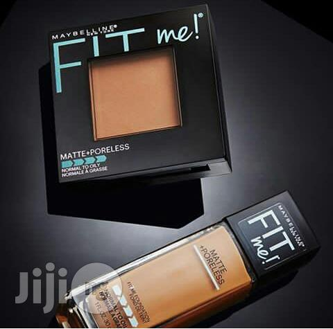 Maybelline Fit Me Foundation and Powder