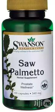 Swanson Saw Palmetto Herbal Supplement | Vitamins & Supplements for sale in Lagos State, Yaba