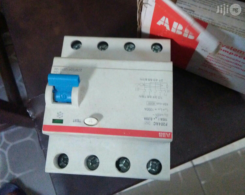 100ams ABB Circuit Breaker