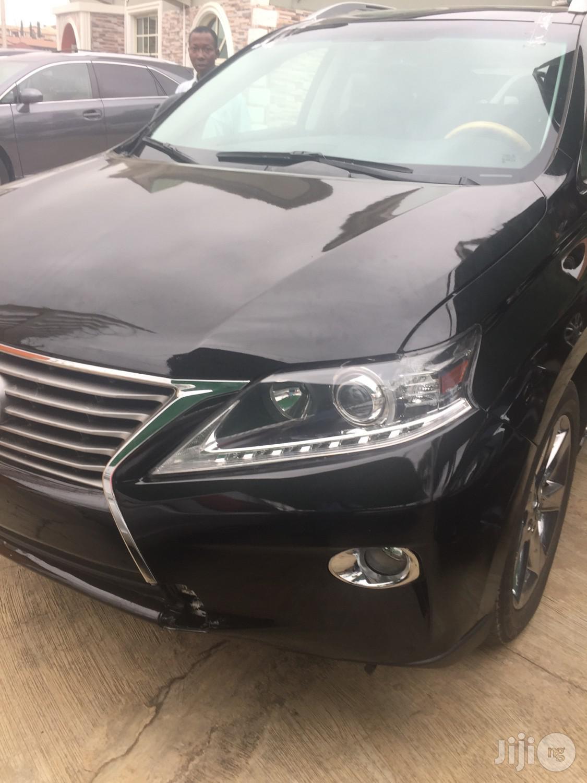 Lexus RX 2012 350 FWD Black | Cars for sale in Ibadan, Oyo State, Nigeria