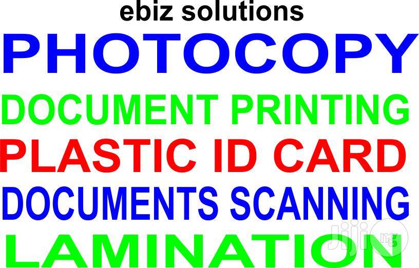 Photocopy Documents Printing
