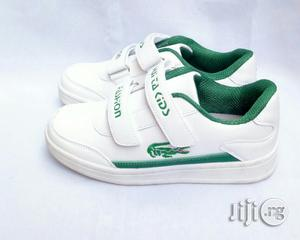 White Canvas With Green   Children's Shoes for sale in Lagos State, Lagos Island (Eko)