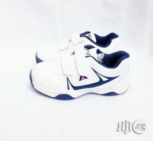 White Canvas With Blue Inner Lining | Children's Shoes for sale in Lagos State, Lagos Island (Eko)