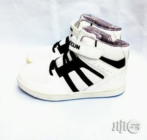 White High Top Ankle Canvas | Children's Shoes for sale in Lagos State, Lagos Island (Eko)