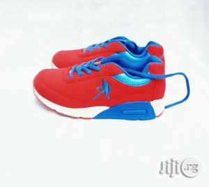 Red and Blue Canvas   Children's Shoes for sale in Lagos State, Lagos Island (Eko)