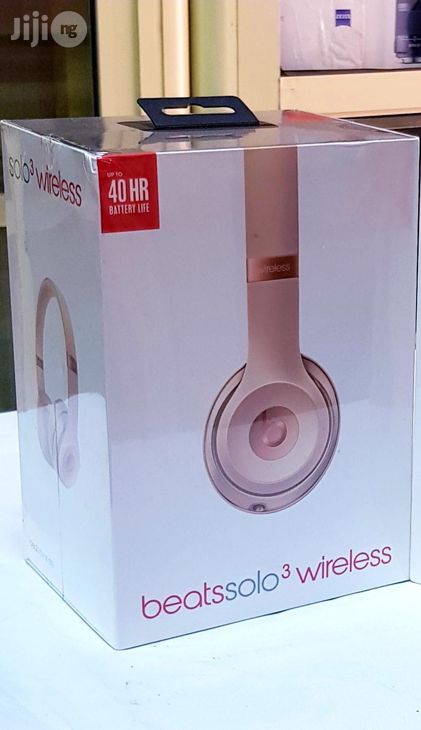 Original Beats By Dre Solo 3 Wireless Bluetooth On-Ear Headphone