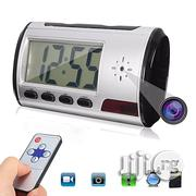 Mini Hidden Camera Alarm Clock Motion Detection Video Sound Recorder   Security & Surveillance for sale in Lagos State, Ikeja