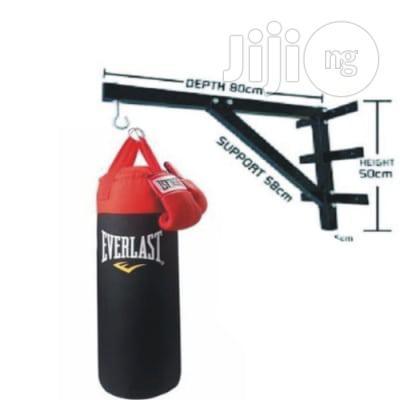 Punching Bag Everlast Giant Size + Wall Bracket + Boxing Gloves
