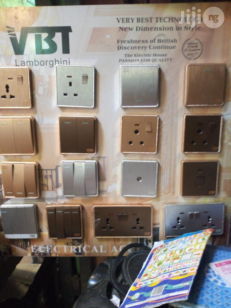 Good Quality Switches And Sockets UK Gold
