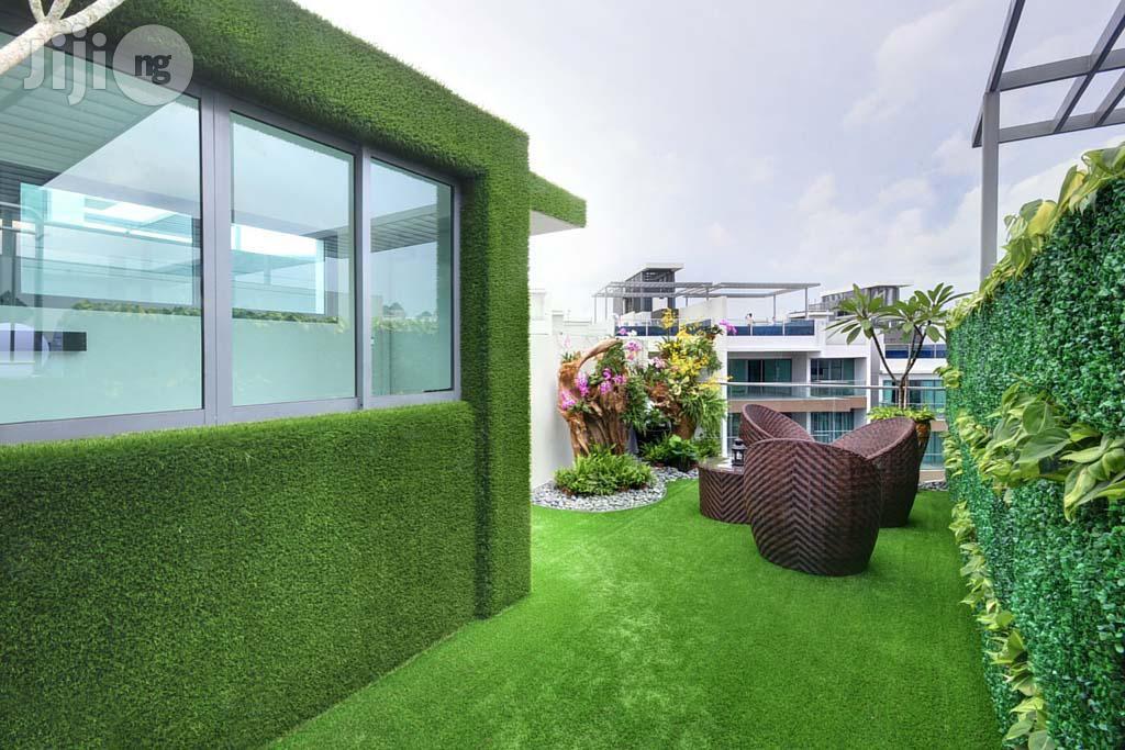 New & Original Artificial Carpet Grass Turf For Garden/Event/Indoor/Outdoor. | Garden for sale in Ikeja, Lagos State, Nigeria