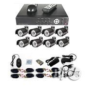Anspo CCTV Complete Set 8-channel DVR Internet Enabled Security System   Security & Surveillance for sale in Lagos State, Ikeja