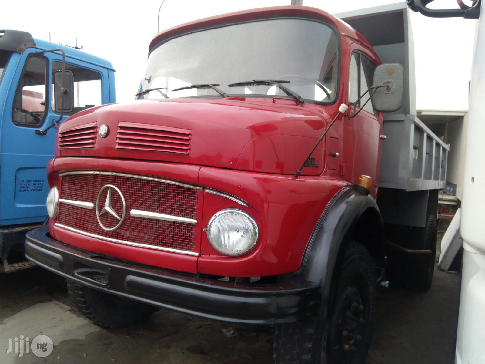 Mercedes Benz Tipper 1988   Trucks & Trailers for sale in Apapa, Lagos State, Nigeria