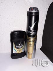 Rexona Anti Perspirant Stick+Antitranspirant Bodyspray (Sport Defence)   Bath & Body for sale in Lagos State, Alimosho