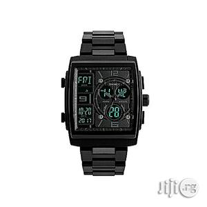 Skmei Analog and Digital Watch.   Watches for sale in Lagos State, Ikeja