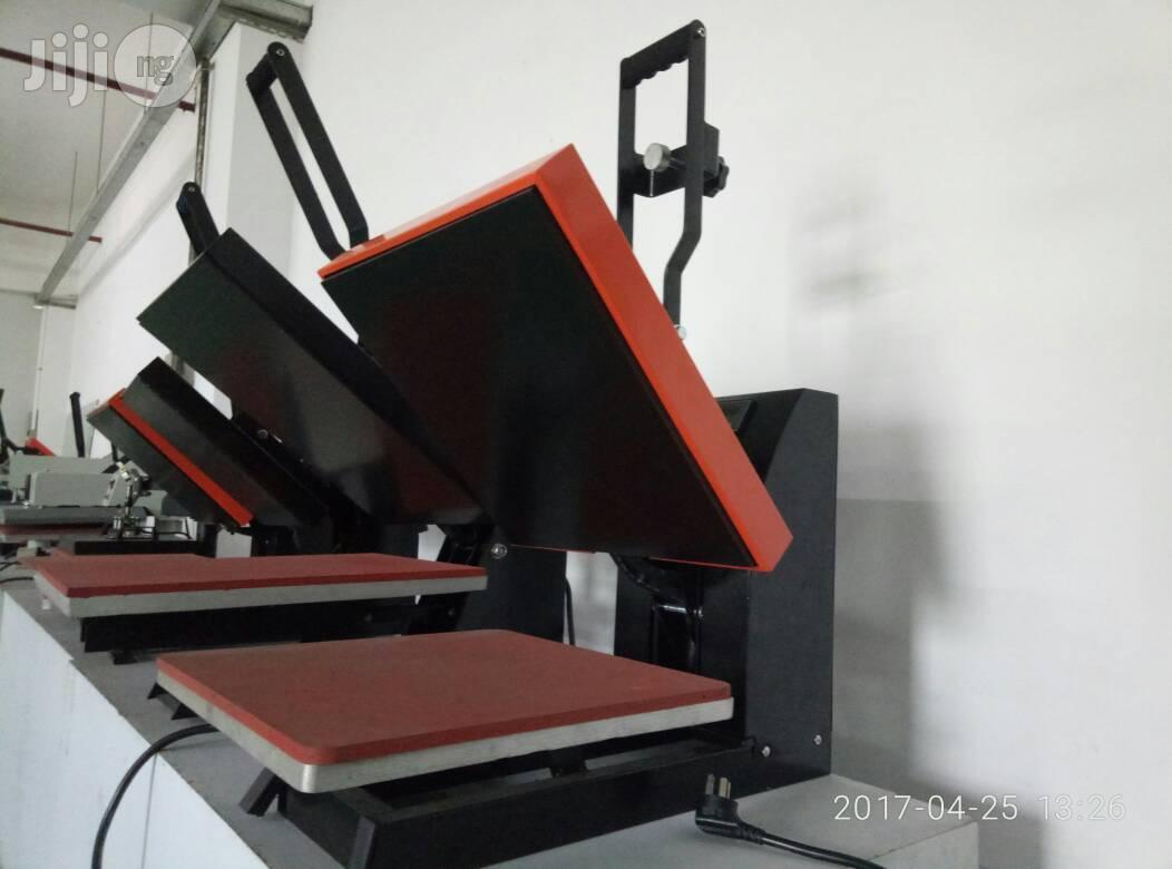 Heat Transfer Machine (Heat Presser Machine)   Printing Equipment for sale in Lagos Island, Lagos State, Nigeria