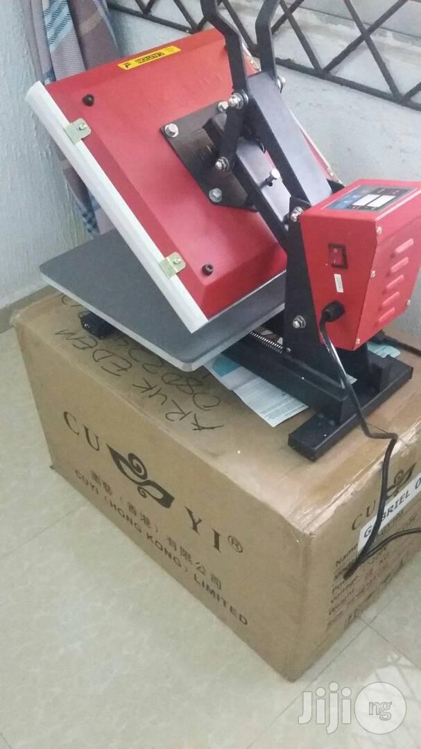 Heat Transfer Machine (Heat Presser Machine)