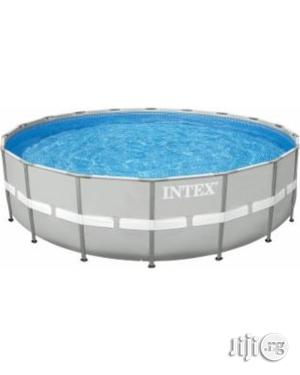 15feet Intex Swimming Pool Roung One With Ladder and Filter   Sports Equipment for sale in Lagos State, Surulere