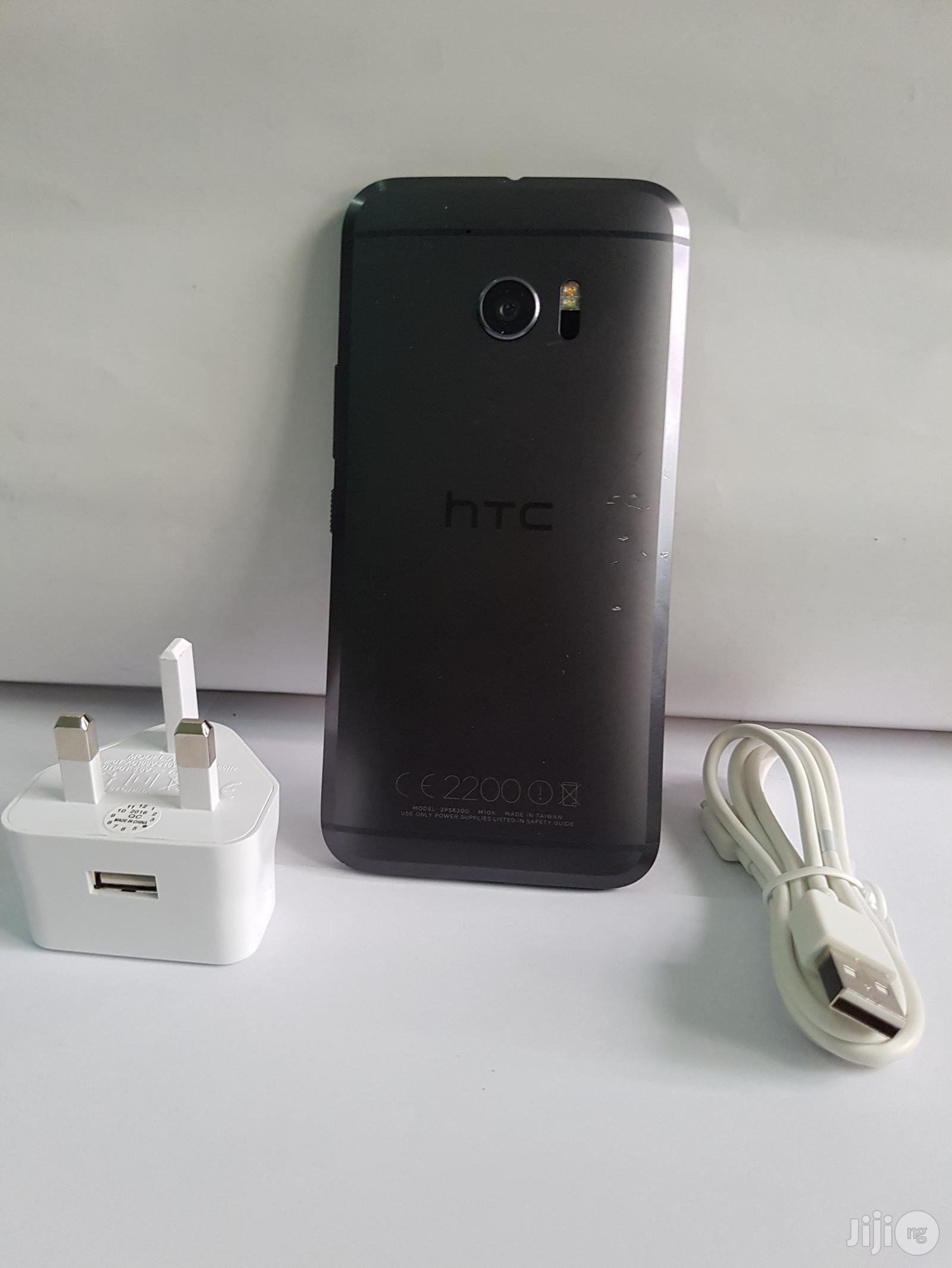 HTC 10 32 GB Black   Mobile Phones for sale in Ajah, Lagos State, Nigeria