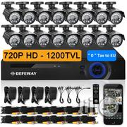 CCTV AHD 2.0 CCTV Camera - 16pcs - 4 In 1 DVR   Security & Surveillance for sale in Lagos State, Ikeja
