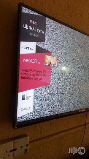 """LG Smart UHD 4K Led Tv 43""""   TV & DVD Equipment for sale in Lagos State, Ojo"""