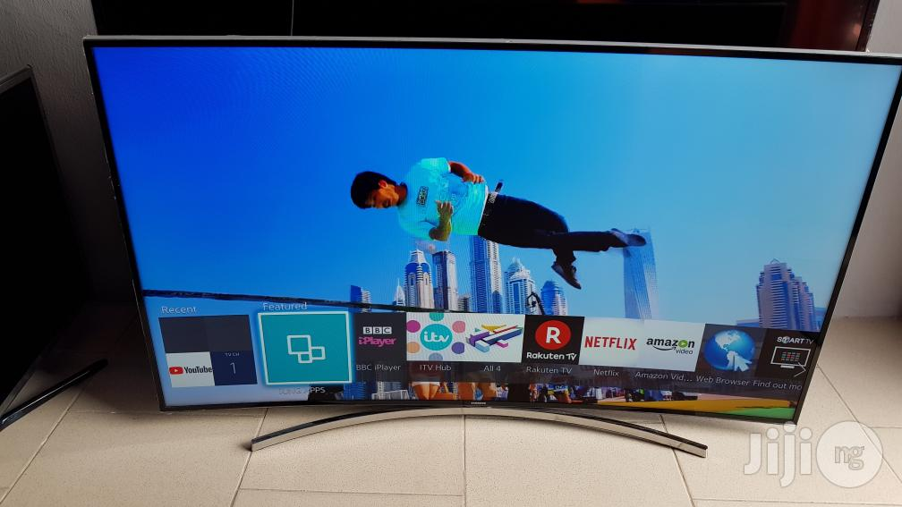 55 Inches Samsung Smart Curved UHD LED UE55HU7200 | TV & DVD Equipment for sale in Ojo, Lagos State, Nigeria
