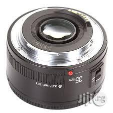 Brand New Yongnuo Prime Lens Yn 35mm 2.0 For Canon Cameras   Accessories & Supplies for Electronics for sale in Lagos State, Lagos Island (Eko)