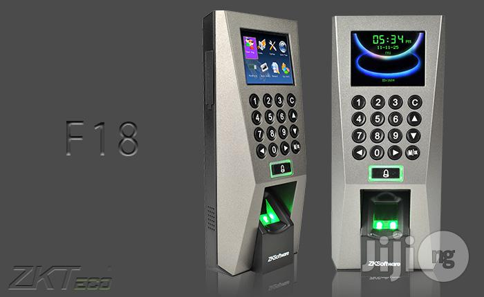 Archive: ZKT F18 Biometric Fingerprint Time Attendance & Door Access Control