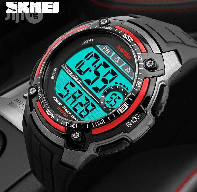 Skmei Sport Digital Waterproof Watch-red