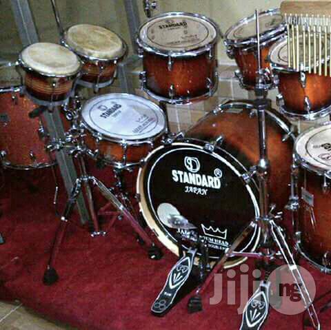 Standard Drumset.
