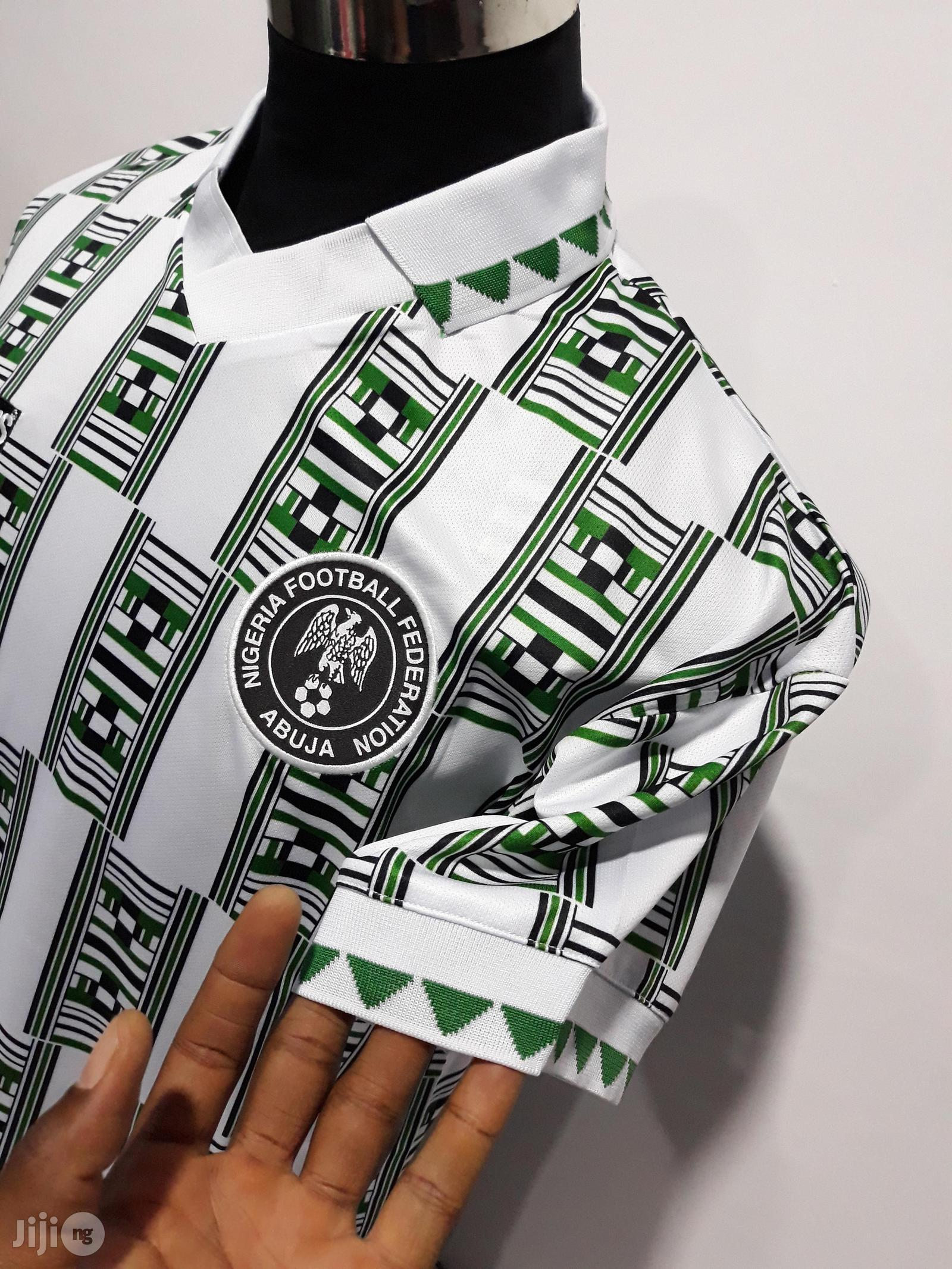 Original Nigeria 1994 World Cup Home Jersey In Surulere Clothing Romeo Nwankwo Jiji Ng For Sale In Surulere Buy Clothing From Romeo Nwankwo On Jiji Ng