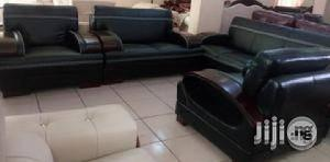 Archive: A Royal High Quality Leather Sofa Set by 7