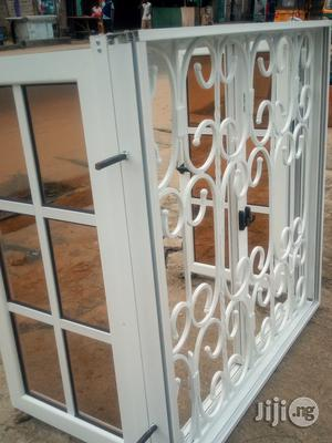 Casement Window With Square Rod Protector   Windows for sale in Rivers State, Port-Harcourt
