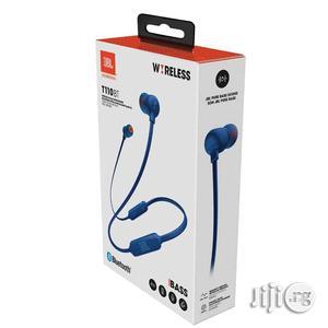 JBL T110 BT Wireless Bluetooth Headphones Blue   Headphones for sale in Lagos State
