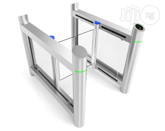 Airport Turnstile Access Control Barrier Gate
