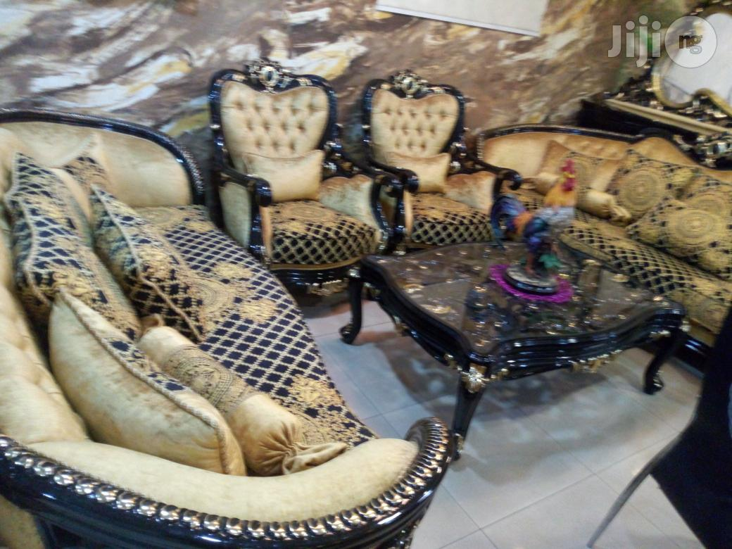 Archive Royal Dining Table With Matching Sofa Settee In Magodo Furniture Austin Onojame Jiji Ng
