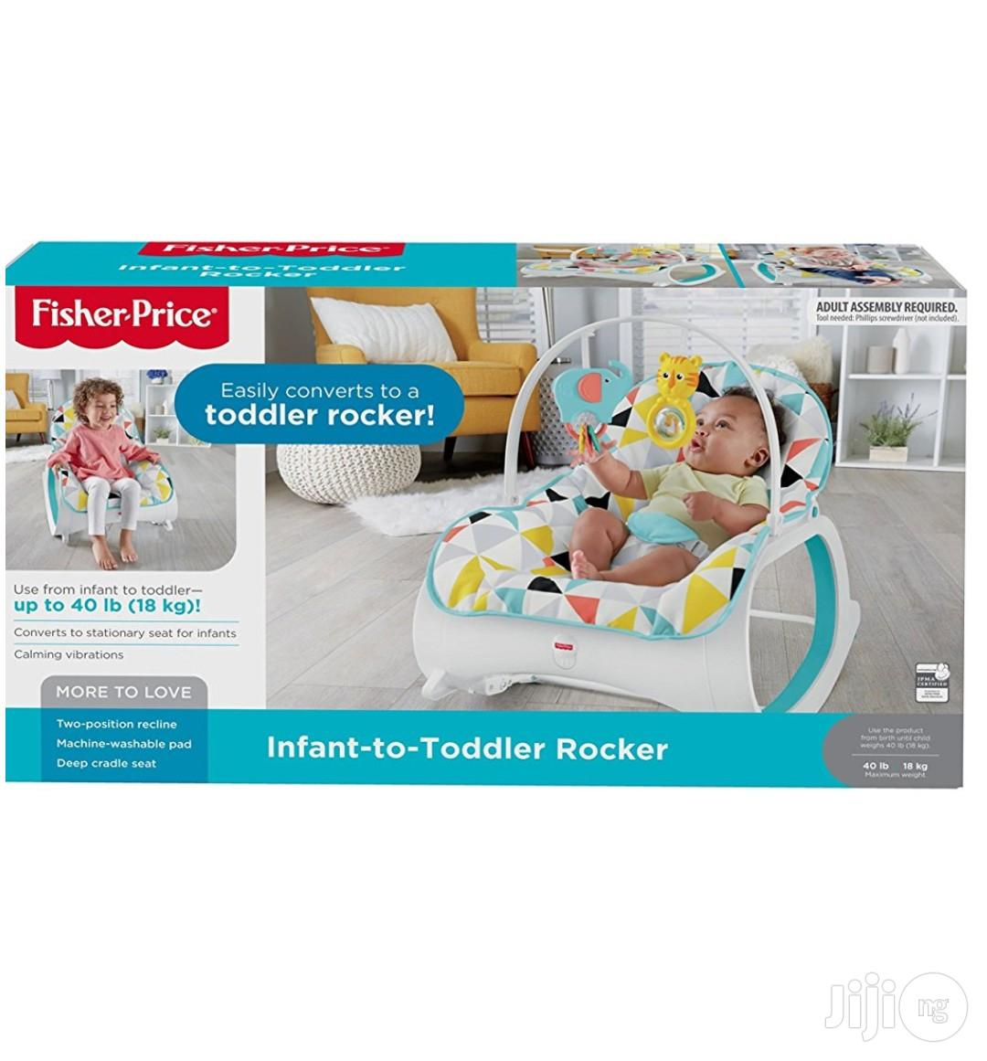 Fisher Price Infant To Toddler Rocker | Children's Gear & Safety for sale in Ikeja, Lagos State, Nigeria